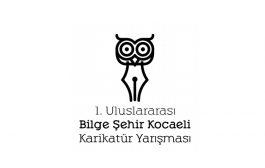 1.Uluslararası Bilge Şehir Kocaeli Karikatür Yarışması (21 Nisan 2017)