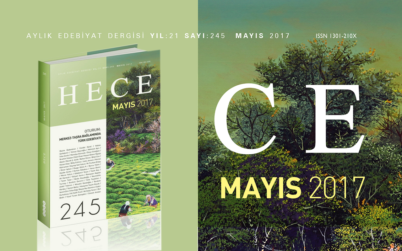 Hece Dergisi Mayıs Sayısı Çıktı