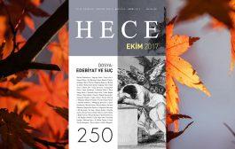 Hece Dergisi Ekim Sayısı Çıktı