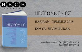 HECEÖYKÜ 87, HAZİRAN-TEMMUZ SAYISI ÇIKTI