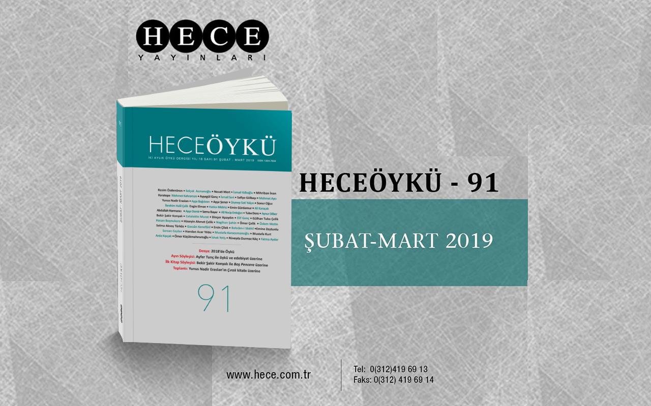 HECEÖYKÜ 91 KİTAPÇILARDA